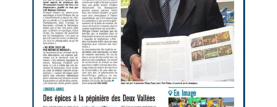 Mushrooms in all their states | Courrier Picard 29 July 2018