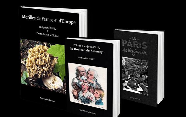 collection livre cap régions éditions - morilles rosière paris benjamin