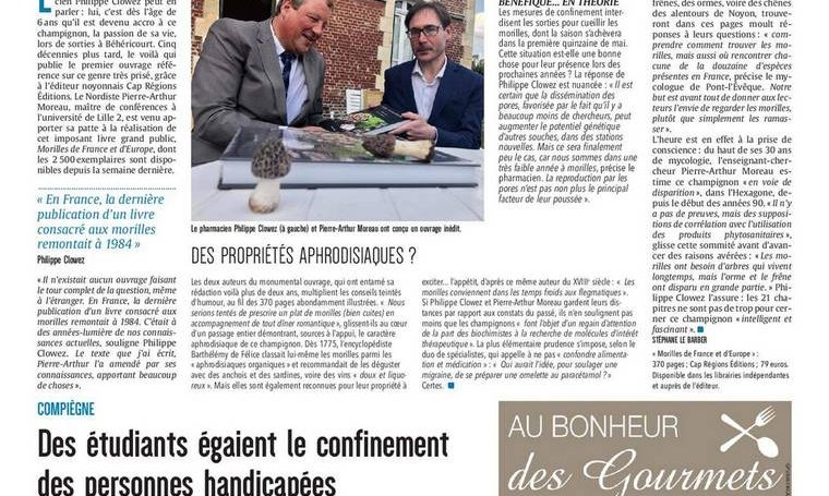 """Morels are endangered"" 